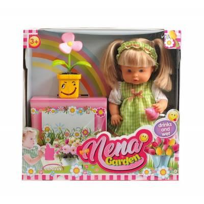 Кукла Baby Nena - Нена с цветком (пьет, писает), 38 см Dimian