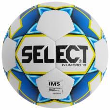 Мяч футбольный SELECT Numero 10, размер 5, IMS, PU, ручная сшивка, 32 панели, 4 подслоя, 810508-020 Selecta