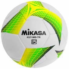 Мяч футбольный MIKASA F571MD-TR-G, размер 5, PVC, ручная сшивка, 32 панели, 3 подслоя Mikasa