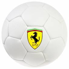 Мяч футбольный FERRARI, размер 2, PU, цвет белый Ferrari