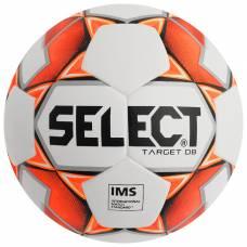 Мяч футбольный SELECT Target DB, размер 5, IMS, PU, гибридная сшивка, 32 панели, 3 подслоя, 815217-106 Selecta