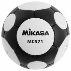 Мяч футбольный MIKASA MC 571 WBK, размер 5, FIFA Quality, PU, ручная сшивка, 38 панелей, 3 подслоя Mikasa