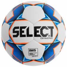 Мяч футбольный SELECT Diamond, размер 5, IMS, TPU, ручная сшивка, 32 панели, 3 подслоя, 810015-002 Selecta