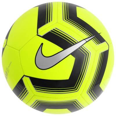Мяч футбольный NIKE Pitch Training, размер 5, TPU, машинная сшивка, 12 панелей, SC3893-703 NIKE