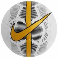 Мяч футбольный NIKE Mercurial Fade, размер 4, TPU, машинная сшивка, 26 панелей, SC3023-101 NIKE