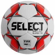 Мяч футбольный SELECT Brillant Super FIFA TB, размер 5, FIFA, PU, термосшивка, 32 панели, 810316-003 Selecta
