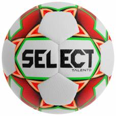 Мяч футбольный SELECT Talento, размер 5, PU, ручная сшивка, 32 панели, 4 подслоя, 390-410 г, 811008-103 Selecta