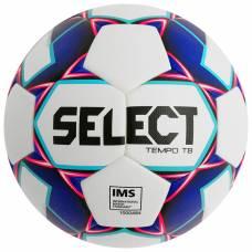 Мяч футбольный SELECT Tempo TB, размер 5, IMS, PU, термосшивка, 32 панели, 2 подслоя, 810416-009 Selecta