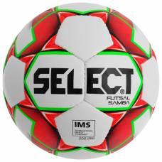 Мяч футзалальный SELECT Futsal Samba, размер 4, IMS, TPU, ручная сшивка, 32 панели, 3 подслоя, 852618-003 Selecta