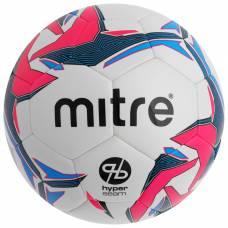 Мяч футзальный MITRE Pro Futsal HyperSeam, размер 4, PU, гибридная сшивка, 32 панели, 2 подслоя, BB1351WG7 Mitre
