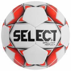 Мяч футбольный SELECT Brillant Replica, размер 5, PVC, машинная сшивка, 32 панели, 811608-003 Selecta