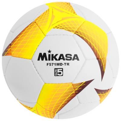Мяч футбольный MIKASA F571MD-TR-O, размер 5, PVC, ручная сшивка, 32 панели, 3 подслоя Mikasa