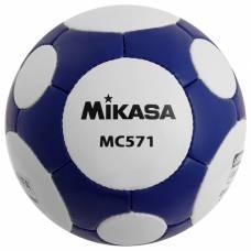 Мяч футбольный MIKASA MC 571 WB, размер 5, FIFA Quality, PU, ручная сшивка, 38 панелей, 3 подслоя Mikasa