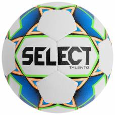 Мяч футбольный SELECT Talento, размер 4, PU, ручная сшивка, 32 панели, 4 подслоя, 310-330 г, 811008-102 Selecta