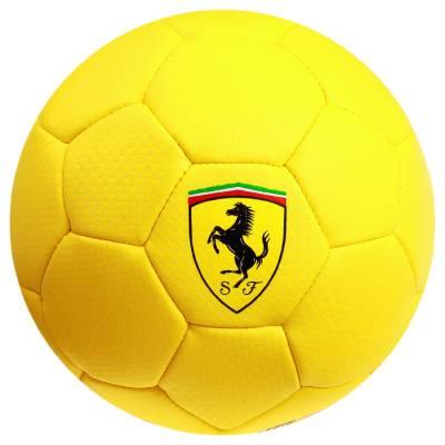 Мяч футбольный FERRARI, размер 2, PU, цвет жёлтый Ferrari