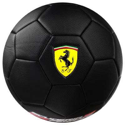 Мяч футбольный FERRARI, размер 5, PVC, цвет чёрный Ferrari