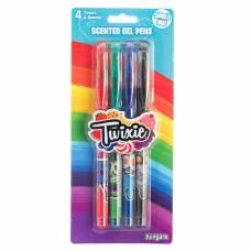 Ароматизированные гелевые ручки Twixie, 4 шт Kangaru