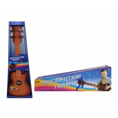 Игрушечная акустическая гитара DoReMi, коричневая ABtoys