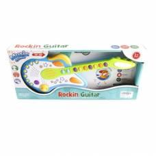 Игрушечная гитара Rockin (свет, звук) Shantou