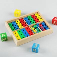 Дидактический набор в коробке, 48 деталей RNToys