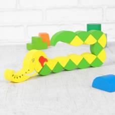 Головоломка-змейка «Слоник», большая Лесная мастерская