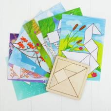 Танграм с набором карточек