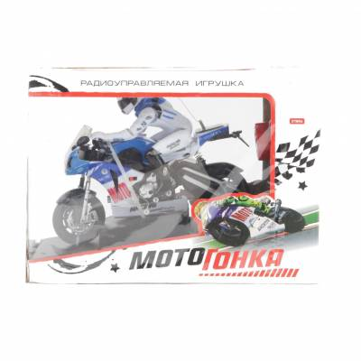 Игровой мотоцикл д/у