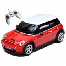 Машина на р/у Mini Сooper S (на бат.), красная, 1:18 Rastar