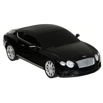 Машина р/у Bentley Continental GT Speed (на бат., свет), черная, 1:24 Rastar