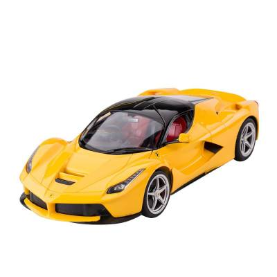 Машина на р/у LaFerrari (на бат., свет), желтая, 1:14 Rastar