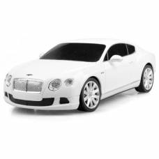 Машина р/у Bentley Continental GT Speed (на бат., свет), белая, 1:24 Rastar