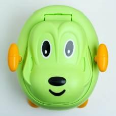 Горшок детский «Собачка», цвет зелёный Sima-Land