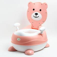 Горшок детский «Мишка», цвет розовый Sima-Land