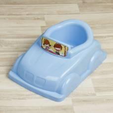 Горшок-игрушка «Машинка», цвет голубой Sima-Land