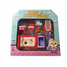 Игровой набор мебели Manx's Happy Family - Спальня №3 Shenzhen Toys