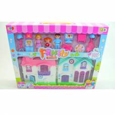Дом для кукол Family Welcome с аксессуарами