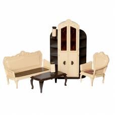 Набор кукольной мебели для гостиной