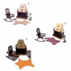 Набор мебели для каминной комнаты