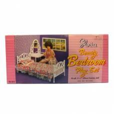 Набор кукольной мебели для спальни с аксессуарами Gloria