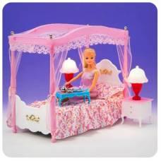 Набор кукольной мебели для спальни My Fancy Life - Конструктор (свет) Gloria