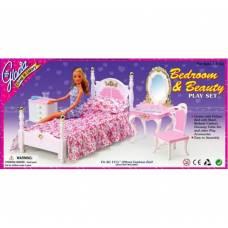 Игрушечная мебель для спальни Bedroom & Beauty Gloria
