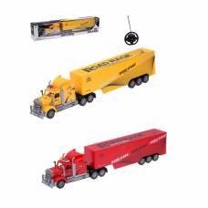 Машина р/у Heavy Trucks- Фура (на бат., свет)