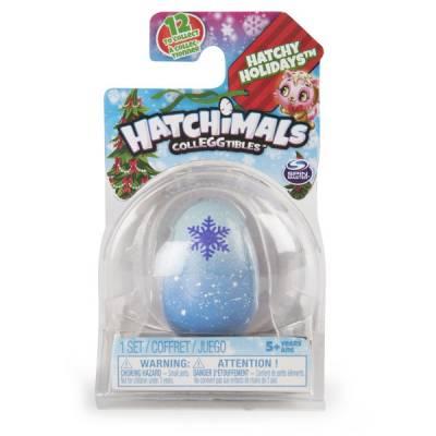 Коллекционная фигурка-сюрприз Hatchimals в яйце - Праздник Spin Master