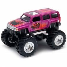 Модель машины Hummer H3 Big Wheel Monster, 1:34-39 Welly