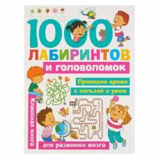 1000 лабиринтов и головоломок. Малышкина М. В., Дмитриева В. Г. БАСТ