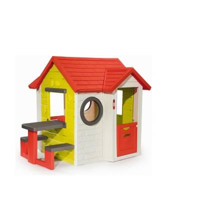 Игровой домик со столом и звонком Smoby