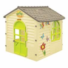 Детский игровой домик Garden House, бежевый Mochtoys