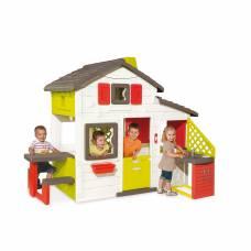 Игровой домик с кухней и звонком Smoby