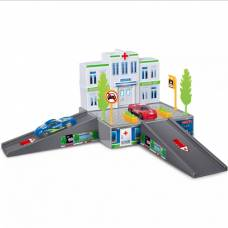 Игровой набор City Parking - Больница, 11 предметов Dave Toys