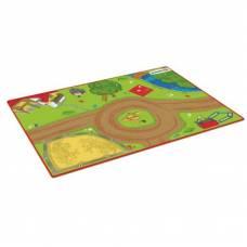 Детский ковер-ландшафт для игры Жизнь на ферме Schleich